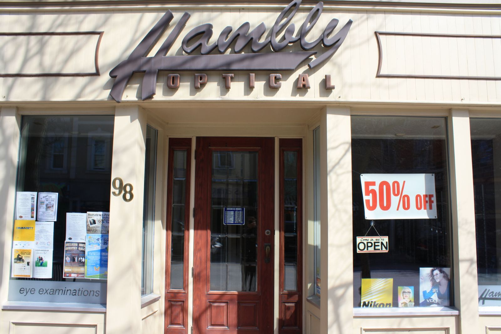 Hambly Optical Centre Ltd.